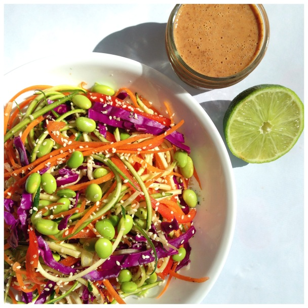 Year round ~ Raw Rainbow Pad Thai