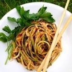 Zucchini Noodles & Quick Tomato Sauce