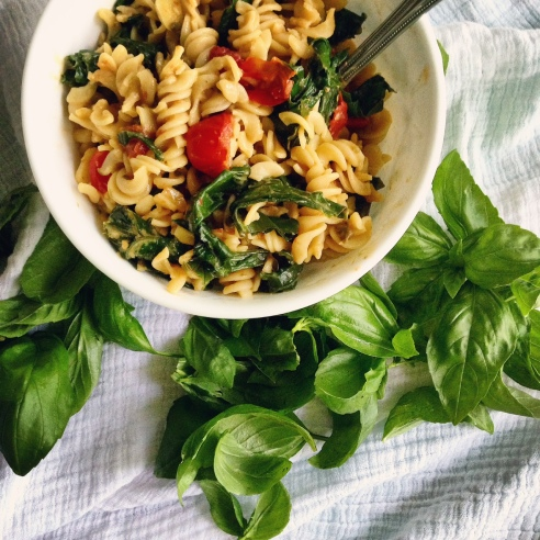 braised greens & pasta