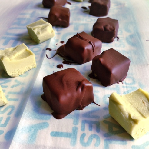 Chocolate Covered Avocado Fudge