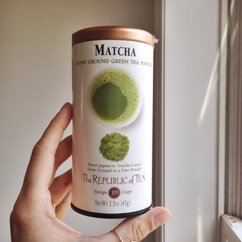 my matcha powder of choice